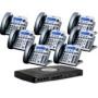 Xblue Networks X16 Digital Speakerphone System - 6 Lines 2 Hours Of Message Storage Titanium New