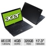 "Acer Aspire AS7250-0416 AMD Dual-Core E-300 1.3GHz 3GB 500GB DVD+/-RW Win7 17.3"" (Black) - Refurbished"
