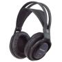 Panasonic RP-WF820EB-K FM Wireless Headphones with 100M Range and Battery Charging Stand