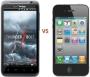 HTC Thunderbolt vs. iPhone 4