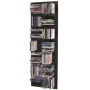 DISTAN - Wall Mounted Grid 112 CD Media Storage - Black