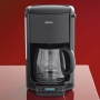 Krups FME2-14 Coffee Machine with 12- Cup Glass Carafe (Black)