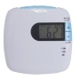 Portable vibration LCD alarm clock with back light and snooze