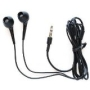 Black Earbud Style Headphones for Apple iPhone 4