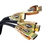 Duronic 1M HDMI v1.4 Goldspec High Speed HDMI Cable with Ethernet- Premium 24K Gold Plated HDMI to HDMI Lead - 1 metres