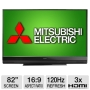 Mitsubishi Digital Television Mitsubishi WD-82740 82 Home Cinema 3D DLP HDTV - 1080p, 1920 x 1080, 16:9, 120Hz Sub Frame Rate, HDMI