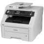 Brother MFC-9325CW Wireless Color multi-function Printer with Scanner, Copier & Fax