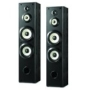Sony Powerful 200 watts 4-Way Floor Standing Speakers (Pair) with Dual 8&quot; Mica Reinforced Woofers, 1&quot; Nano Fine Balanced Dome Tweeter and 3 ?&quot; Enhance