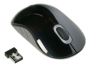 Targus Wireless Comfort Laser Mouse - Mouse - laser - wireless - 2.4 GHz - USB wireless receiver - gray, black