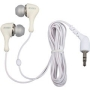 JAXX In-Ear Headphones with Case - White