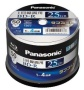 PANASONIC Blu-ray BD-R Recordable Disk   25GB 4x Speed   50 Spindle Pack Ink-jet Printable (Japan Import)
