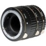 Vivitar Metal Macro Automatic Extension Tube Set of 3 for Canon EOS (13mm, 21mm & 31mm)