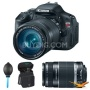 Canon EOS Digital Rebel T3i 18MP SLR Camera 18-135mm &amp;amp; 55-250mm Instant Rebate B