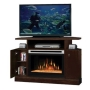 Dimplex Cheshire Electric Fireplace Media Console - Mocha