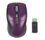 Engage Wireless Optical Mouse, Purple