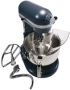 KitchenAid Custom Metallic Stand Mixer In Brushed Nickel - KSM152PSNK
