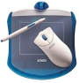 Wacom Graphire - Mouse, digitizer - 4 x 5 in - optical - wired - USB - blueberry - retail