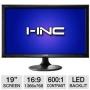 I-Inc IL195ABB 19 Class Widescreen LED Backlit Monitor - 1366 x 768, 16:9, 600:1 Native, 5ms, VGA, Energy Star