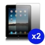 JSG Twin pack clear LCD screen protector for Apple IPAD