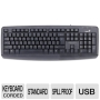31300711100 KB-110X Wired Keyboard - USB Black Genius 31300711100 KB-110X Wired Keyboard - USB Black