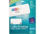 "Avery� 8253 Color Printing Matte White Inkjet Shipping Labels, 2"" x 4"", 200/Box"