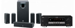 Yamaha AV63 AV System. Receiver and Speakers. 2 years warranty.