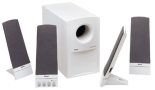 Boston Acoustics BA7500RUS Digital 5.1 Computer Speaker System (White)