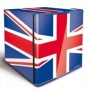 HUSKY HUS-EL193 50 LITRE UNION FLAG COUNTER TOP FRIDGE