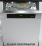 "Miele 24 "" Futura Diamond Plus Series Custom Panel Dishwasher - G 5915 SCI"