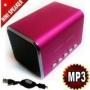Music Angle Sports MP3 Player Mini Speaker portble sound box boombox - Micro SD/TF slot - Gaorui