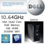 Dell Quad Core Tower Pc Super Power Qc 2.6ghz 8gb Ram 1gb Hdmi Graphics (P10-1)