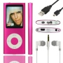 SHS 8GB MP3 MP4 Player LCD Screen with FM Radio Video Games Movie Color Pink