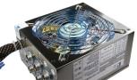 KingWin Moduler 800 Watt Silent Gaming Power Supply Unit with Active PFC and Blue LED Nivdia SLI/Ati Crossfire Ready