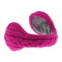 Kitsound Knitted Music Ear Muffs for iPhone, iPod and MP3 - Pink