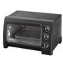 Black & Decker Toaster Oven Broiler White with Silver Trim TRO700