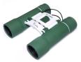 Funoculars 10x25 Compact Binoculars in Lush Fern Green