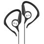 Skullcandy X4GVCZ-803 Black and White Groove Hanger Ear Buds