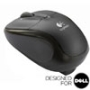 V220 Jet Black Cordless Optical USB Mouse - Designed for Dell