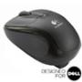 V220 Jet Black Cordless Optical USB Mouse - Designed for Dell