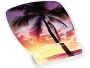 3M Designer Gel Mouse Pads with Wrist Rest, Sunrise Design