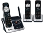 AT&T CL82300 DECT 6.0 Cordless Telephone with Caller ID and Digital Answering System