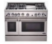 DCS RDT-485GD Dual Fuel (Electric and Gas) Range