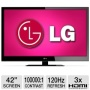 LG Electronics LG 42LV4400 42 Class LED HDTV - 1080p, 1920 x 1080, 16:9, 120Hz, 100000:1, 6 ms, HDMI, USB, Enhanced Noise Reduction, Intelligent Senso