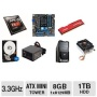 AMD FX-4200 3.3GHz Quad-Core CPU/Asus M5A78L-M/USB3 mATX MB/8GB DDR3 1866 Kingston HyperX Fury Red Memory/1TB WD Blue 7200rpm SATA HDD/CPU Cooler/Coug