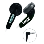 PYLE PEBH25BK Ultra Slim In-Ear Earbud Stereo Headphones for iPod/MP3/Any Media Player (Super Bass, Black)