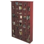 PIGEON HOLE - CD Storage Shelves - Mahogany