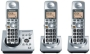 Panasonic Digital Cordless Phone with DECT 6.0 Technology & 3 Handsets