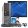 """Dell OptiPlex 990 Intel i5 3000 MHz 250Gig HDD 4096mb DVD ROM Windows 7 Professional 32 Bit + 17"""" LCD Desktop Computer"""