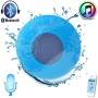 ~easygo~BLUE Waterproof Wireless Bluetooth3.0 Mini Speaker SHOWER POOL Car Handsfree mic for Apple iphone 4S/5 S4 ipad ipod Tablet PC