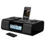 SDI iHome IH9S6 - Clock radio with iPod cradle - silver